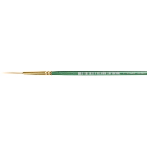 Princeton™ Good Synthetic Sable Watercolor and Acrylic Brush Liner 4; Grade: Good; Length: Short Handle; Material: Synthetic Sable; Shape: Liner; Type: Acrylic, Watercolor; (model 4350L-4), price per each