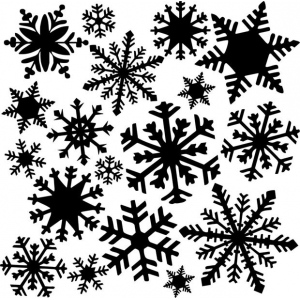 "The Crafter's Workshop 12"" x 12"" Design Template Flurries: 12"" x 12"", Patterned Stencil, (model TCW164), price per each"