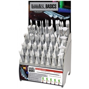 Liquitex Basics Long Handle Brush Display Assortment