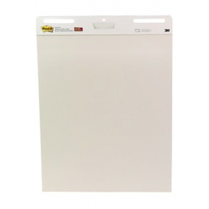 "Post-It® Ungridded Easel Pads: Glue Bound, White/Ivory, Pad, 30 Sheets, 25"" x 30"", Sticky Notes, (model P559), price per 30 Sheets pad"