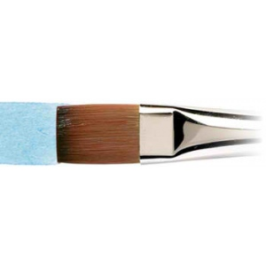"Winsor & Newton™ Cotman™ Series 666 One Stroke Short Handle Brush 1""; Length: Short Handle; Material: Synthetic; Style: One Stroke; Type: Watercolor; (model WN5306125), price per each"
