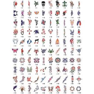 Paasche SB-1 Tattoo Stencil Design Book