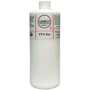 Gamblin PVA Size 32oz: 32 oz, (model G01332), price per each