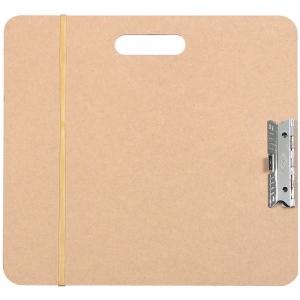 "Heritage Arts™ Artist Sketch Board 15"" x 16""; Color: Brown; Size: 15 1/2"" x 16 1/2""; Top Material: Masonite; Type: Drawing Board; (model SB1516), price per each"