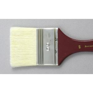 Hog Bristle Series 200: Wide Flat Size 60 Brush