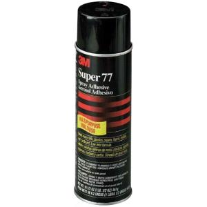 3M™ Super 77™ Spray Adhesive 4 oz.; Strength: Permanent; (model SUPER77-4), price per each