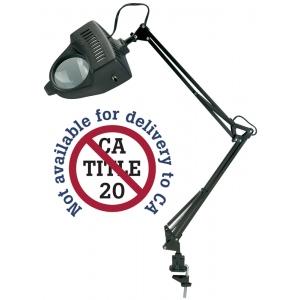 "Alvin® 1.75x Swing-Arm Magnifier Lamp Black; Size: 4""; Style: Swing-Arm; Wattage: 26-75w; (model ML100-B), price per each"