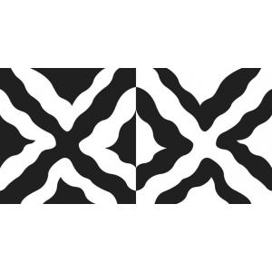 """Cedar Canyon Textiles DesignMagic™ Wavy Squares Stencil Set; Color: Blue; Size: 7"""" x 7""""; Type: Patterned Stencil; (model CCT710), price per set"""