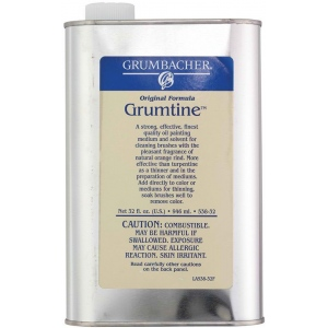 Grumbacher® Grumtine 32oz: Bottle, 32 oz, Oil, (model GB53832), price per each