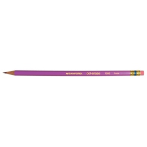Col-Erase® Erasable Color Pencil Purple; Color: Purple; (model SN20067), price per dozen (12-pack)