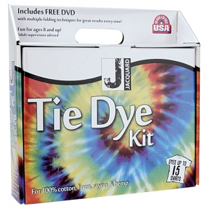 Jacquard Tie Dye Kit: 15 Shirts, Multi, Bottle, Tie Dye, (model JAC9325), price per kit
