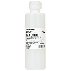 Koh-I-Noor® Rapido-Eze Pen Cleaner; Format: Bottle; Size: 8 oz; Type: Soap & Cleaners; (model 30684), price per each