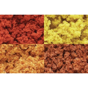 Woodland Scenics® Foliage Clusters Fall Mix Foliage Clump : Multi, 3 qt, Foliage, (model WSFC186), price per each