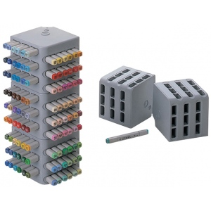 Copic® Original Empty Block Stand 36: 36 Markers, Black/Gray, Plastic, Stand, (model BLKSTD), price per each