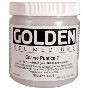 Golden® Pumice Gel Medium Coarse 8 oz.: 236 ml, 8 oz, Coarse, Gel, (model 0003200-5), price per each