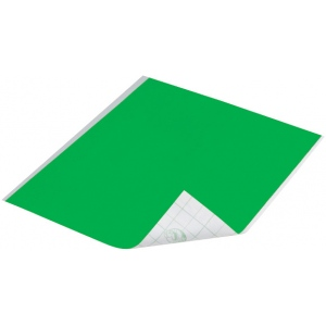 "Duck Tape® Neon Green Tape (Sheet); Color: Green; Format: Sheet; Size: 8 1/4"" x 10""; Type: Color; (model DT280084), price per sheet"