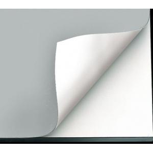 "Alvin® VYCO Gray/White Board Cover 43 1/2"" x 72"" Sheet; Color: Black/Gray, White/Ivory; Format: Sheet; Material: Vinyl; Size: 43 1/2"" x 72""; (model VBC77-13), price per each"