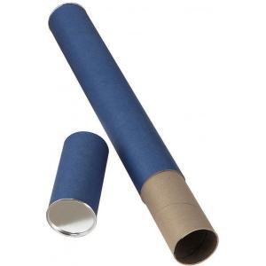"Alvin® Blue Fiberboard Tube 2 1/2"" I.D. x 25"": Blue, Fiberboard, 2 1/2"" x 25"", (model T413-25), price per each"