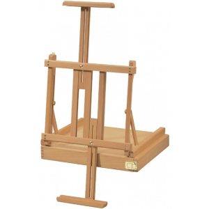 Heritage Arts™ Hawkins Beechwood Box Easel: Wood, Tabletop, (model HWE417), price per each