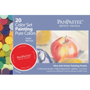 PanPastel® Ultra Soft Painting Pastels 20-Set; Color: Multi; Format: Pan; Type: Ultra Soft; (model PP30201), price per set