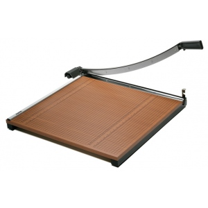 "X-Acto® 24"" x 24"" Wood Guillotine Paper Trimmer: 24"", Guillotine, Trimmer, (model X-26624), price per each"