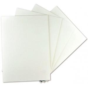 "Alvin® White On White Presentation Board 20 x 30; Color: White/Ivory; Format: Sheet; Quantity: 25 Sheets; Size: 20"" x 30""; Type: Presentation Board; (model PW2030-25), price per 25 Sheets box"