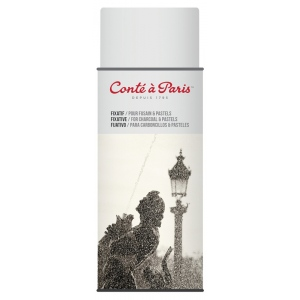Conte™ Fixative Aerosol Spray; Format: Bottle; Size: 400 ml; Type: Varnish & Specialty; (model C50243), price per each