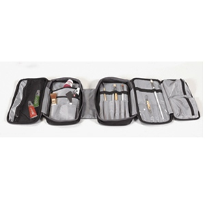 Martin Just Stow-It Double Tool Bag: Black, Model # 66-JS1004