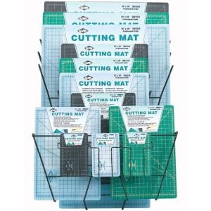 Alvin® Professional Cutting Mat Display; Material: Vinyl; Size: Multi; Type: Cutting Mat; (model CM050D), price per each