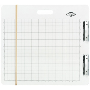 "Heritage Arts™ Gridded Sketch Board 23"" x 26""; Color: White/Ivory; Size: 23 1/2"" x 26""; Top Material: Masonite; Type: Drawing Board; (model GB2326), price per each"