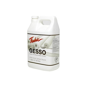 Fredrix® Acrylic Gesso 1 gallon; Size: 1 gal; Type: Acrylic Painting, Gesso; (model T4406), price per each