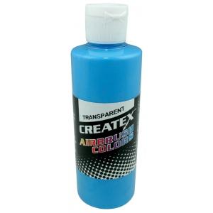 Createx™ Airbrush Paint 4oz Caribbean Blue: Blue, Bottle, 4 oz, Airbrush, (model 5105-04), price per each