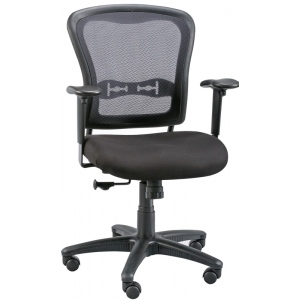 "Alvin® ; Arm Rest Included: Yes; Color: Black/Gray; Foot Ring Included: No; Height Range: Under 24""; Seat Material: Fabric; (model CH760), price per each"