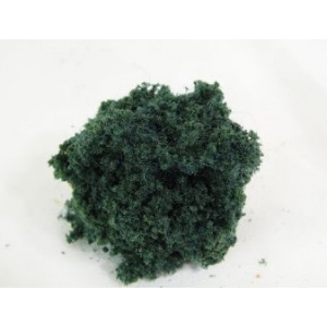 Wee Scapes™ Architectural Model Dark Green Bush Foliage Cluster; Color: Green; Coverage: 150 sq in; Material: Poly Fiber, Turf; Type: Foliage; (model WS00344), price per each