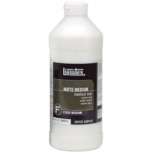 Liquitex® Matte Medium 32oz; Finish: Matte; Format: Bottle; Size: 32 oz; (model 5132), price per each
