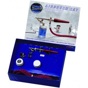 Paasche F-SET Single Action Airbrush Set