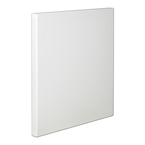 """Fredrix® Artist Series Blue Label 8"""" x 10"""" Blue Label Ultra Smooth Stretched Canvas: White/Ivory, Sheet, 8"""" x 10"""", 11/16"""" x 1 9/16"""", Stretched, (model T5601), price per each"""