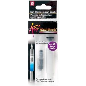 Koi™ Water Brush Large; Material: Nylon; Shape: Round; (model 38552), price per each