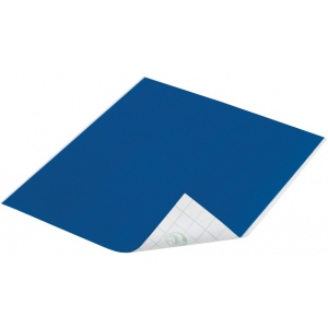 "Duck Tape® Deep Blue Ocean Tape (Sheet); Color: Blue; Format: Sheet; Size: 8 1/4"" x 10""; Type: Color; (model DT280089), price per sheet"