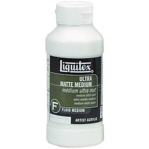 Liquitex® Ultra Matte Medium 8oz: Matte, 8 oz, (model 5608), price per each