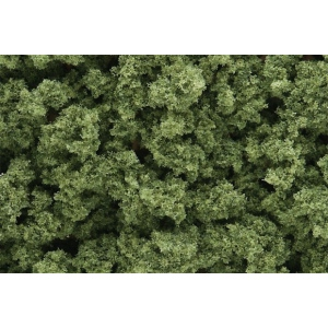 Woodland Scenics® Light Green Bushes; Color: Green; Coverage: 18 cu in; Type: Bushes; (model FC145), price per each