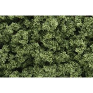 Woodland Scenics® Light Green Bushes: Green, 18 cu in, Bushes, (model FC145), price per each
