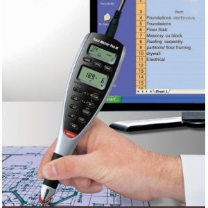 Calculated Industries® Scale Master® Pro XE Plan Measure with PC Interface Cable; Style: Digital; Type: Map Measure; (model CA325), price per each