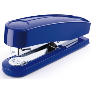 "Dahle B4 Compact Executive Stapler: Blue, 2 5/8"" Throat Depth"