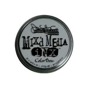 ColorBox® Mix'd Media Inx™ Pewter Pigment Ink Pad: Black/Gray, Pad, Pigment, Refillable, (model CS37012), price per each