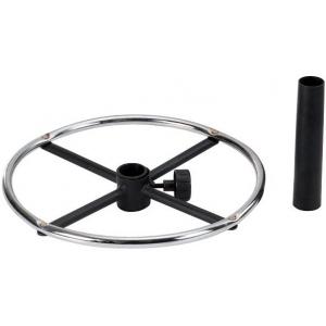 "Alvin® 18"" Diameter Chrome Ring: Metallic, 18"", (model CK38), price per each"