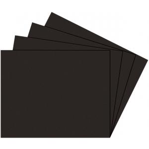 "Alvin® Black on Black Presentation Boards 8"" x 10""; Color: Black/Gray; Finish: Matte; Format: Sheet; Quantity: 25 Sheets; Size: 8"" x 10""; Type: Photography Presentation Board; (model PB810-25), price per 25 Sheets box"