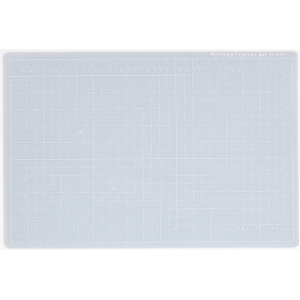 "Dahle Vantage Self Healing Cutting Mat: Crystal Clear, 9"" x 12"" Cut Size"