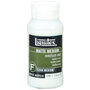 Liquitex Matte Medium: 4 oz.