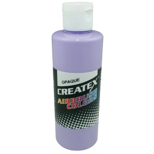 Createx™ Airbrush Paint 4oz Opaque Lilac; Color: Purple; Format: Bottle; Size: 4 oz; Type: Airbrush; (model 5203-04), price per each